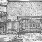 Sketch of Ladies Drawing Room in The Club