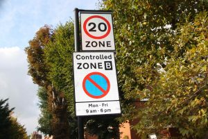 Zone B – shared parking